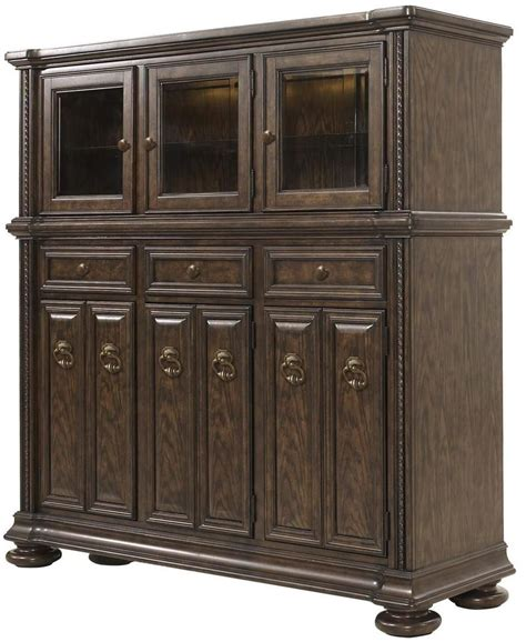 canyon creek vintage oak buffet server from fairmont