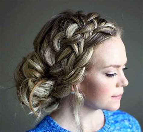 Hairstyles For 15 Anos by 25 Hairstyles For Prom Hairstyles 2017