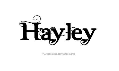 hayleys boat rental hayley name tattoo designs