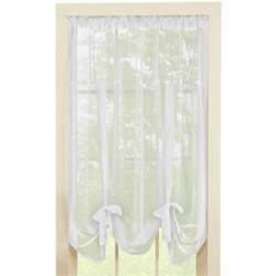 Tie Up Curtains Sheer Tie Up Shade Curtain By Collections Etc Ebay