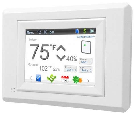 Comfort Window by Hi Tech News Comfort Window A Smart And New Thermostat