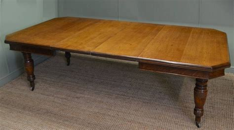 antique victorian oak extending dining table 266848