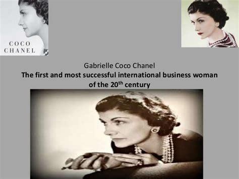 coco chanel business biography coco chanel leadership skills