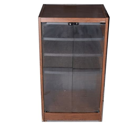 Glass Door Audio Cabinet Gusdorf Stereo Cabinet Nrtradiant