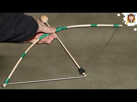 How To Make A Paper Arrow And Bow - how to make a mini bow and arrow