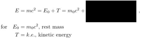 Light Energy Equation Relativity Physics And Science Calculator Some