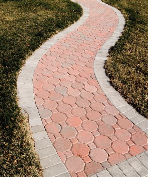 pathway designs the 411 on brick walkways modernize