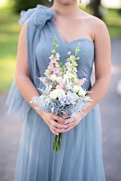 Romantic Blush and Blue Nashville Wedding   Best Dusty