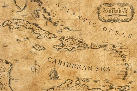 nautical maps caribbean nautical chart by shawnbrown on deviantart
