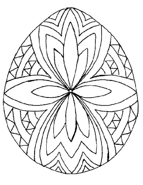 egg design coloring page easter eggs coloring part 17