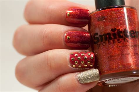 Holo Studded studded holo skittlette may contain traces of