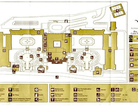 Free Room Layout Website map of the hotel picture of hotel riu palace cabo san