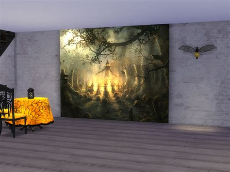 Halloween Wall Mural neferu s halloween wall mural
