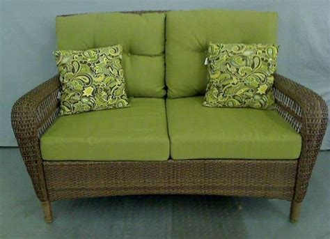 martha stewart charlottetown loveseat martha stewart living charlottetown wicker woven outdoor