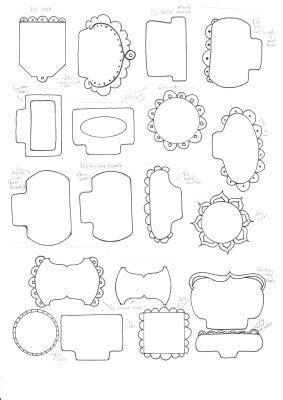 template for card tab 151 best digital frames images on doodles