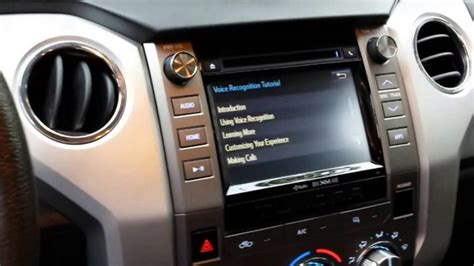 My Toyota Voice Toyota Tundra Voice Commands