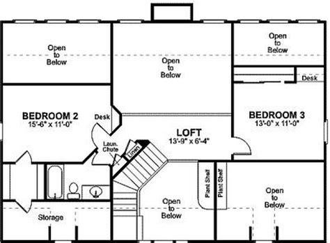 small  bedroom house plans small house floor plans  loft simple small house floor plans