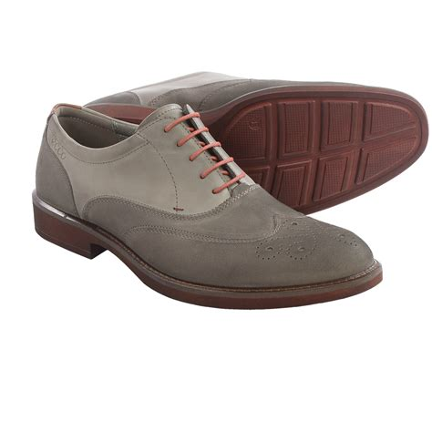 wingtip oxford shoes for ecco biarritz wingtip oxford shoes for save 51