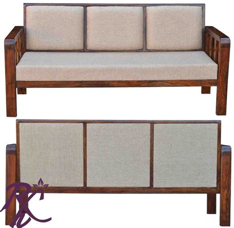 simple wood sofa buy simple solid wood sofa online in india rajhandicraft