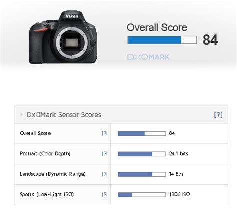 "nikon d5600 sensor review at dxomark: ""an excellent performer"""