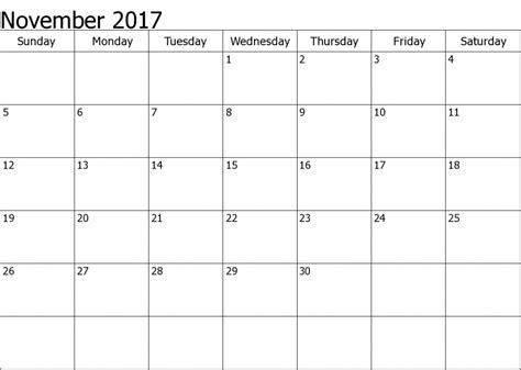 printable calendar november 2017 pdf november 2017 calendar pdf