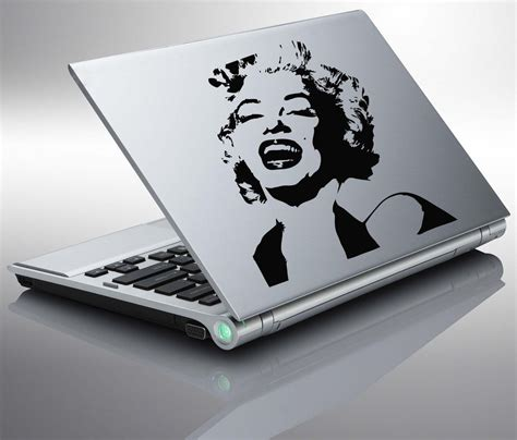 marilyn monroe vinyl laptop marilyn monroe design vinyl sticker decal