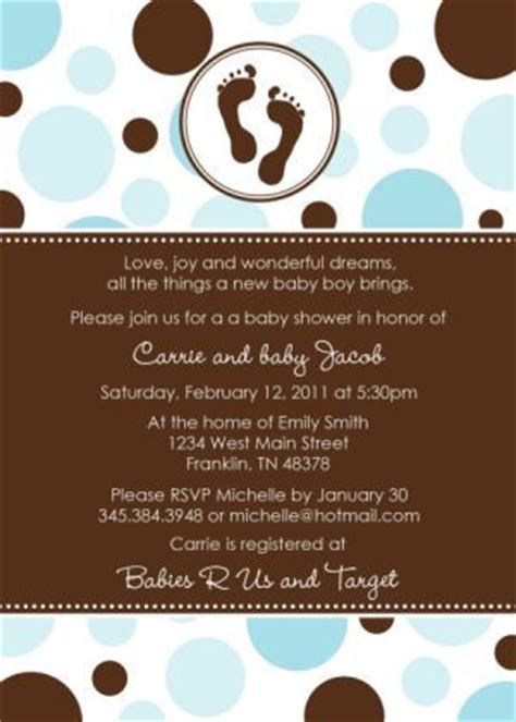 Footprints Baby Shower Theme by 11 Best Baby Shower Invitation Footprint Designs Images On