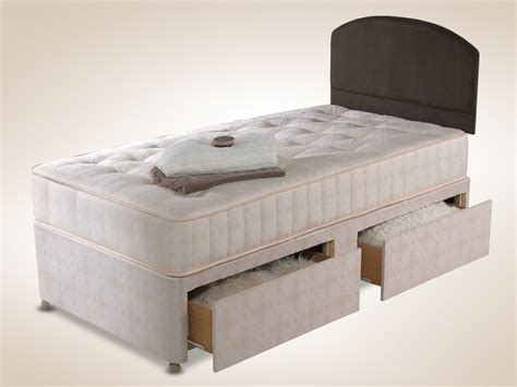 how big is a single bed shire 3ft 6 elizabeth large single divan bed