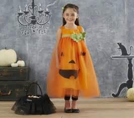 Pottery Barn Kids Pumpkin Costume 小女生專屬 萌翻天的萬聖節系列造型 動手diy Kidsplay親子就醬玩