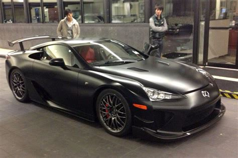 lfa lexus black lexus lfa n 252 rburgring edition