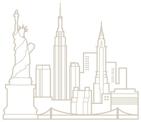Newyork Skyline Colouring Pages New York Coloring Pages