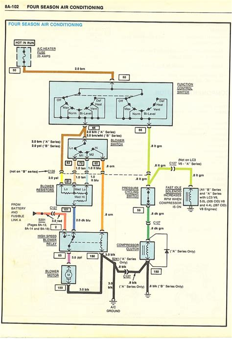 automotive air conditioning wiring diagram pdf