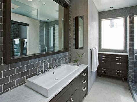 bathroom vanity tile ideas black bathroom tile ideas brown laminated wooden vanity