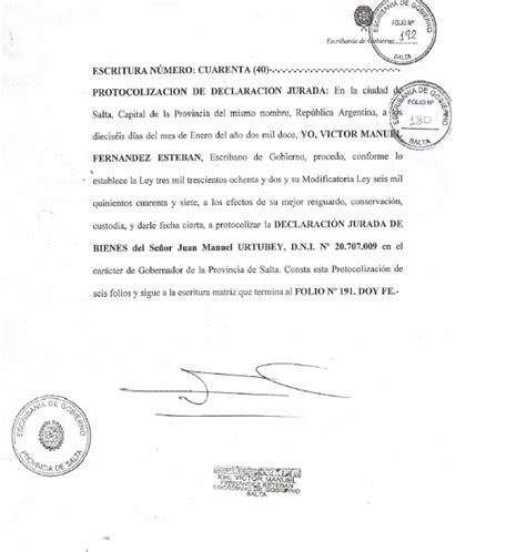 declaracion jurada puerto rico irregularidades en la declaraci 243 n jurada de bienes de