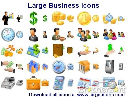 download free free large business icons, free large