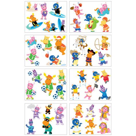 removable tattoos for kids the backyardigans temporary tattoos for 43 tattoos