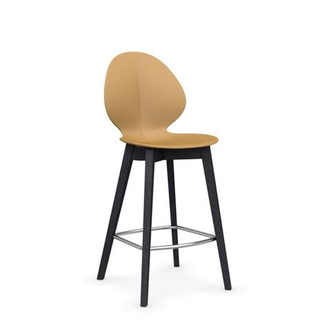 bar stools somerville ma basil w cs 1495 polypropylene and wooden counter stool by
