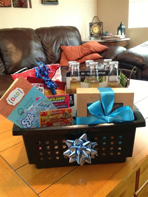 Handmade Birthday Gift Ideas For Husband - dads birthday gift basket best birthday gifts ideas