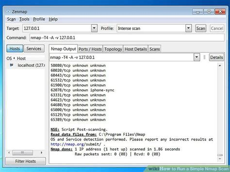 tutorial nmap windows 7 how to run a simple nmap scan 12 steps with pictures