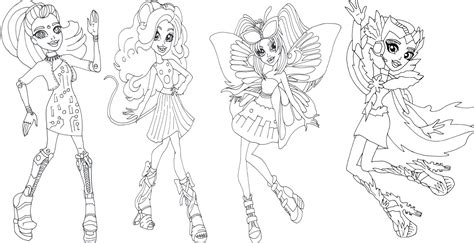 monster high luna mothews coloring pages free printable monster high coloring pages boo york