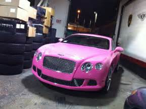 nicki minaj new pink car nicki minaj pink bentley cars