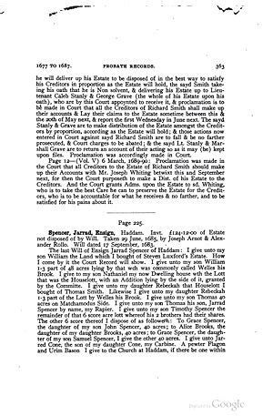 Connecticut Records Free Gerard Spencer 1614 1685 Wikitree Free Family Tree