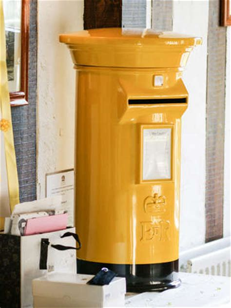 Wedding Post Box Yellow wedding post box hire your colour options to hire