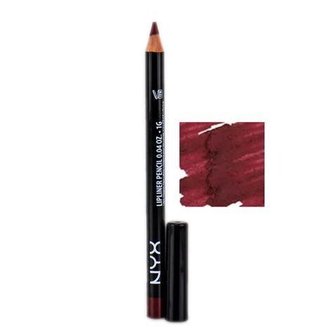 Nyx Brown Liner nyx slim lip liner pencil soft brown slp 819 nyx