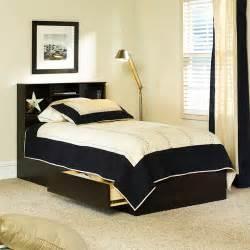 Bed Frames With Storage Walmart Mainstays Storage Bed Cinnamon Cherry Walmart