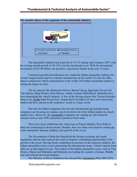research paper on automobile industry the automobile industry research paper