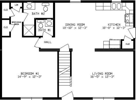 36 X 24 Floor Plans Alpine Homes 26 X 36 Modular Home 26 X 36 House Plans