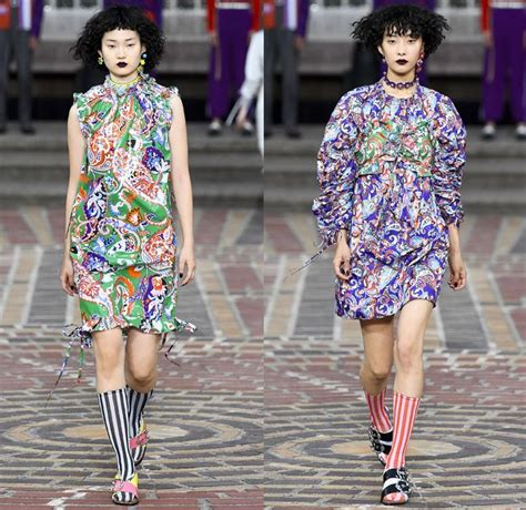 In Runway Looks Frillr Its The Frills That Count by Kenzo 2018 Summer Womens Runway Catwalk Looks