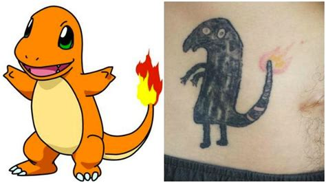 tattoo fail pokemon ivre il rate son propre tatouage pok 233 mon 187 oui fm