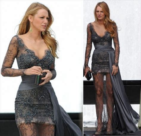Serena Vanderwoodsen Bedroom by Gossip Fashion Blake Lively In Zuhair Murad Dress